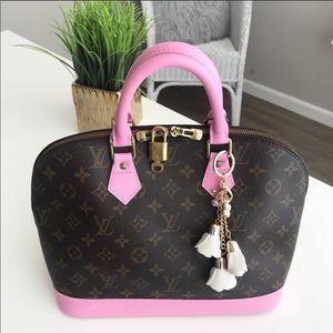 Authentic Louis Vuitton Alma Bag
